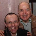 Angelo Mendes Corrêa e Itamar Santos
