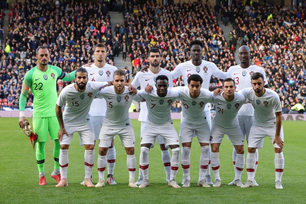 7be147a06a3 A seleção portuguesa de futebol venceu a Escócia por 3-1