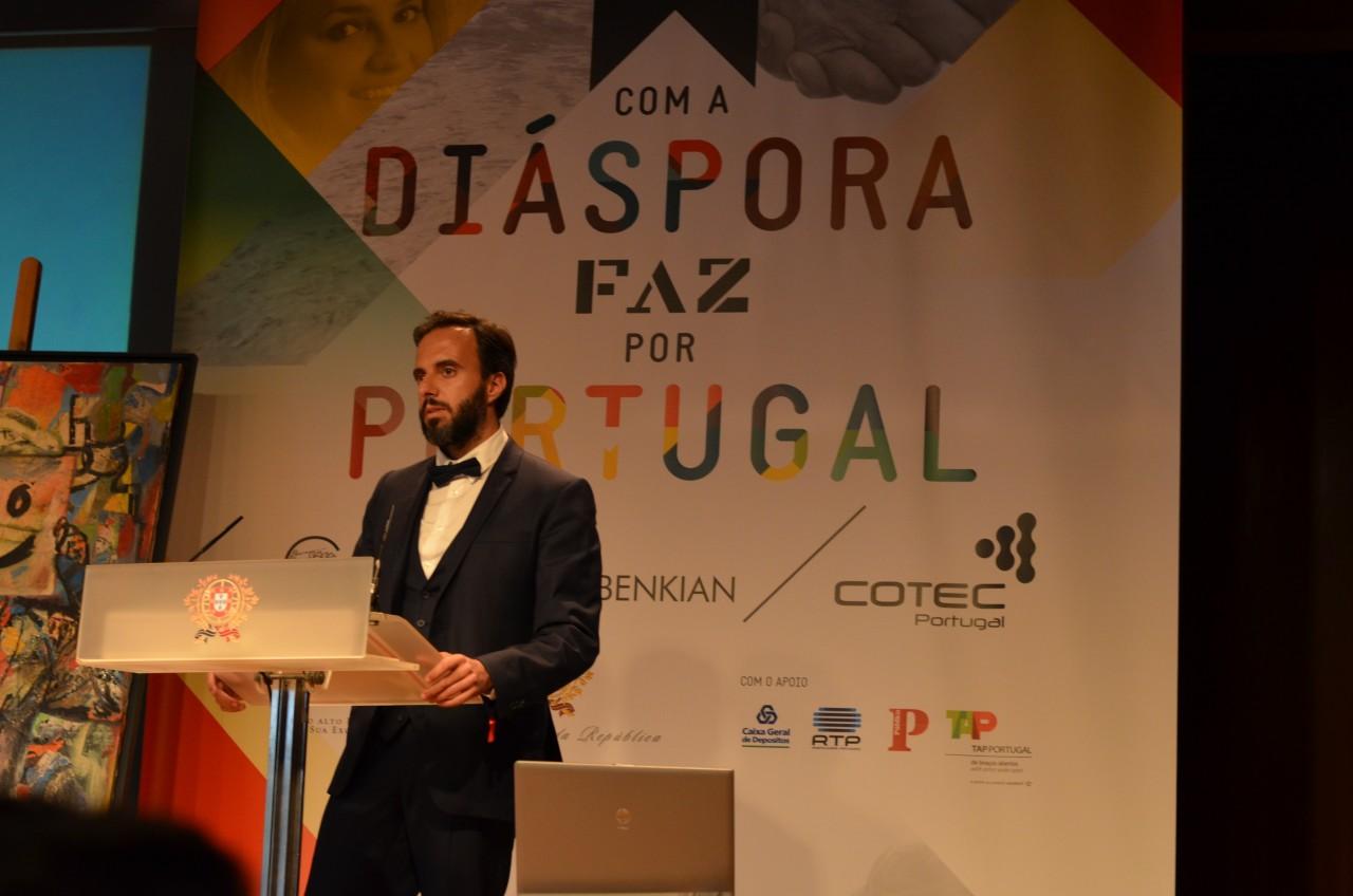 """ecc5b271bee ... na Diáspora Portuguesa"""" da COTEC Portugal é o empresário José Neves"""
