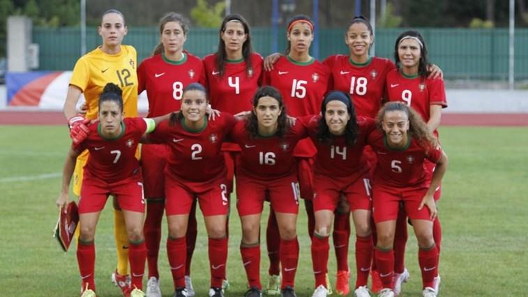Resultado de imagem para seleção portuguesa de futebol feminin