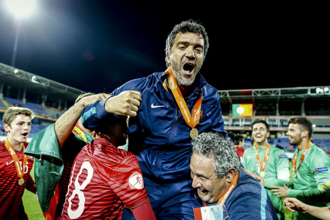c384857d3d O treinador da seleção portuguesa de futebol de sub-17