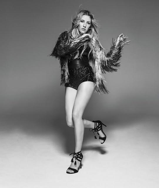 Ellie Goulding lança coleção de calçado BOM DIA