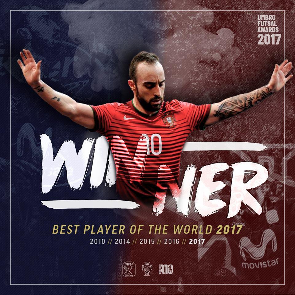 90ecb9892e O internacional português Ricardinho foi eleito pelo Futsal Planet