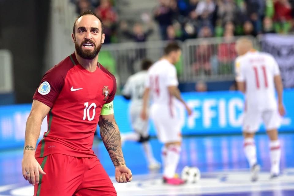 f235bdf1a21f7 Portugal campeão e Ricardinho melhor jogador do europeu - BOM DIA