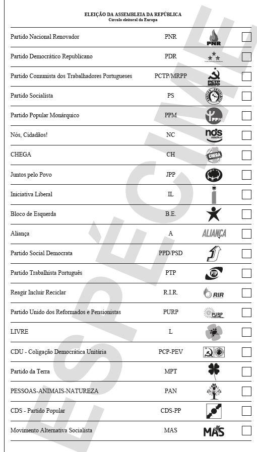 Saiba como votar e conheça o boletim de voto